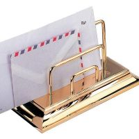 Briefständer - 23-Karat vergoldet