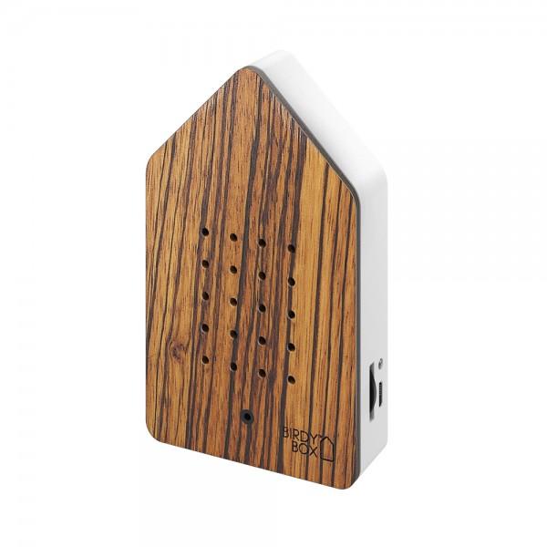Birdybox zebrano