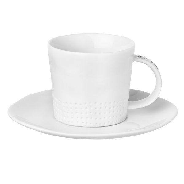"""Kleine Tasse mit Untertasse """"Zeit für mich"""""""