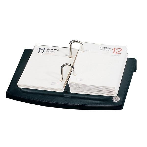 Kalender Leder Black