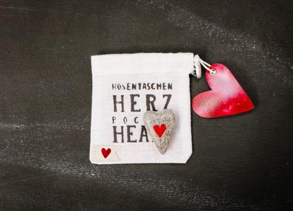 """Hosentaschen Herz """"Herz"""""""