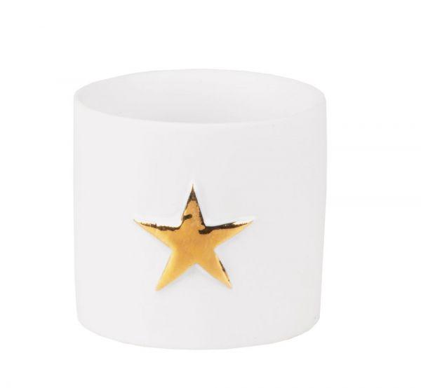 Sternenlichtlein 2er Set, gold