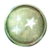 Traumkugel (Groß) Motiv 2 Sterne