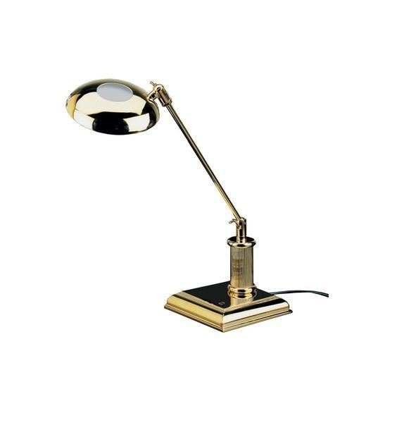 LED Lampe - 23-Karat vergoldet