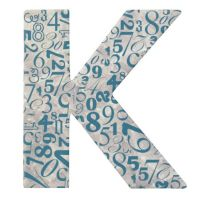 """Paper & Poetry ABC Schachtel """"K"""""""