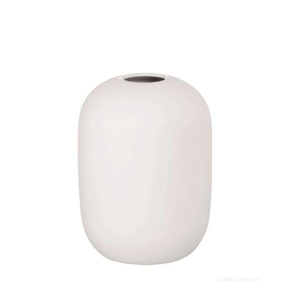 Vase weiss SMOOTHIES 13 cm