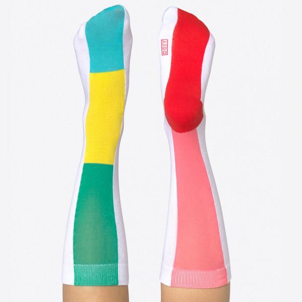 Rainbow Socks pink