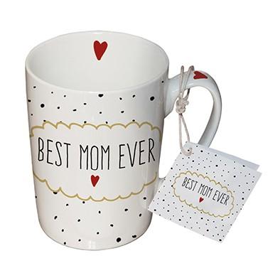 Porzellantasse Best Mom