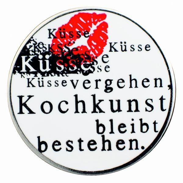 """Gourmetpin - Motiv """"Küsse vergehen"""""""