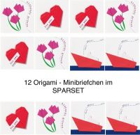 Origami Mini Briefchen 12er Set