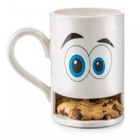 """Keksbecher """"Mug Monster"""" weiss"""