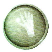 Traumkugel (Groß) Motiv Hand
