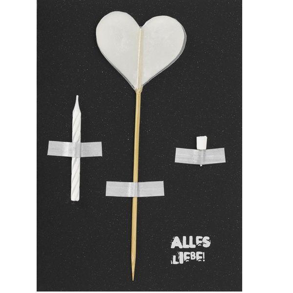 "Artefakte Karte ""Alles Liebe"""