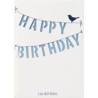 """Lichttüten Karte """"Happy Birthday"""""""