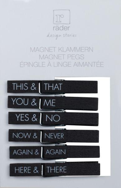 "Magnetklammern ""This & that,..."""