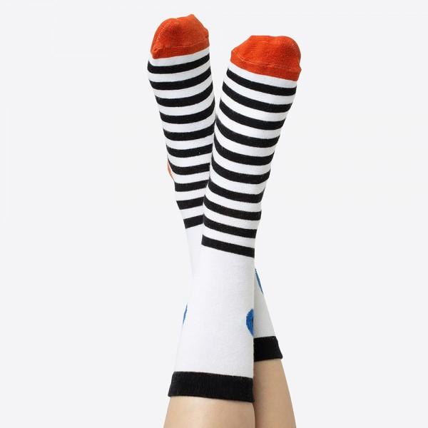 Eye Socks blau