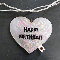 Konfettiregen - Happy Birthday
