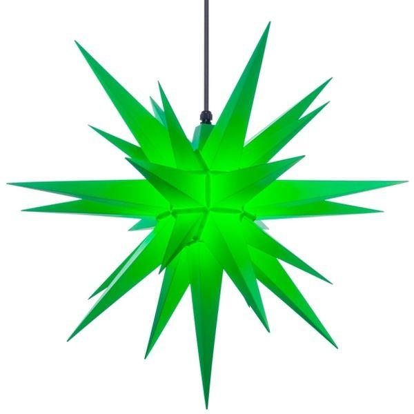Weihnachtsstern für Außen, Grün 68 cm