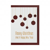 """Weihnachts Stanzkarte """"Merry Christmas"""""""