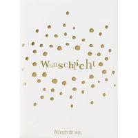 """Lichttüten Karte """"Wunschlicht"""""""