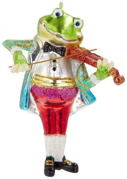 """Hänger """"Frosch mit Violine"""""""
