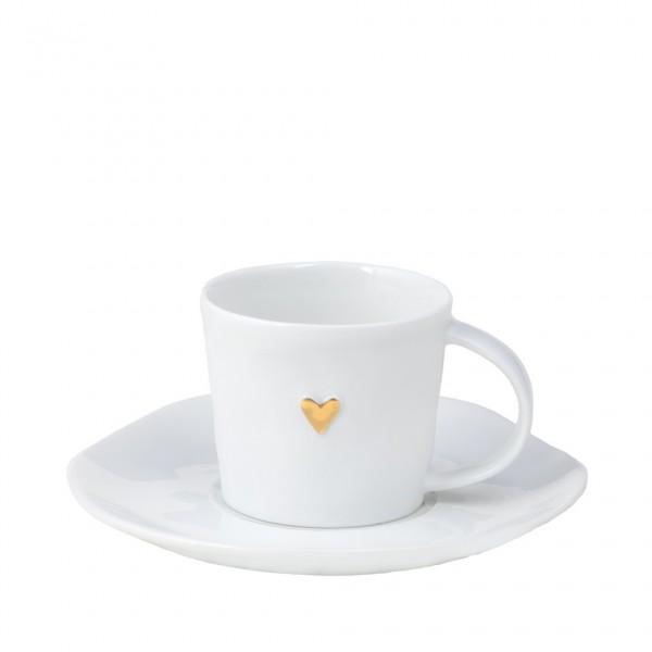 Kleine Tasse, gold