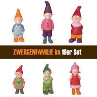 Zwergenglück-Familie, gross im Set ( 60 Stück )