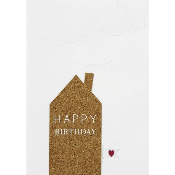 Korkkarte - Happy Birthday
