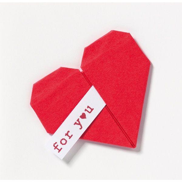 """Origami Mini Briefchen """"for you"""""""