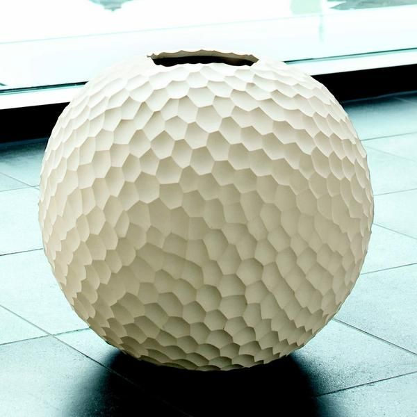 Kugelvase, Carve, 30 cm