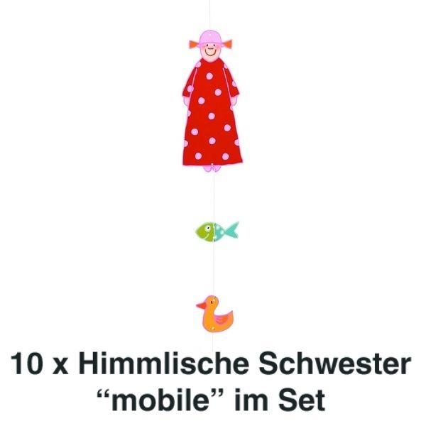 Himmlische Schwestern Mobile Rosine 10er Set
