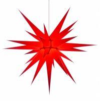 Weihnachtsstern für Innen, Rot 80 cm