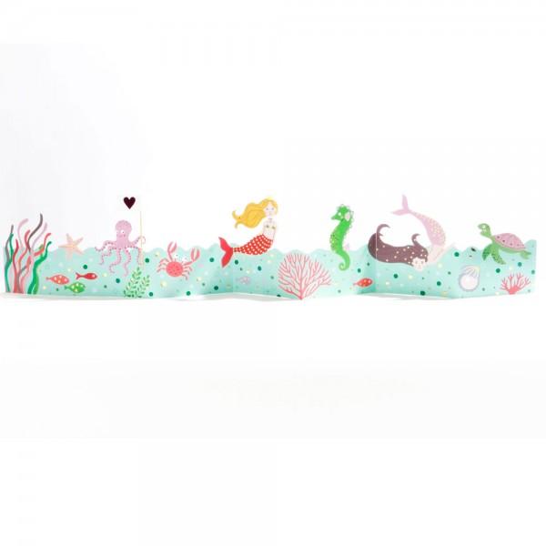"Kinder Tischgirlande ""Meerjungfrau"""