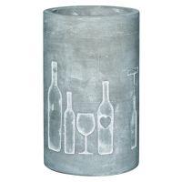 """Vino Beton Weinkühler """"Flasche + Glas"""""""