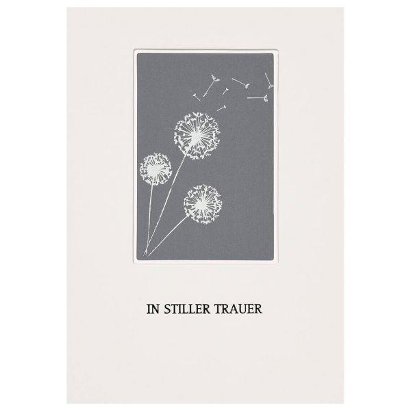 """Passepartout Trauerkarte """"In aller Trauer"""""""