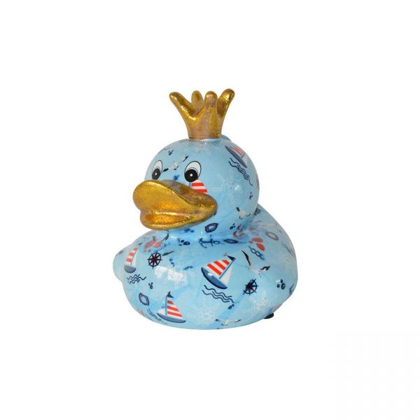 Ducky M - Blau mit Meermotiven