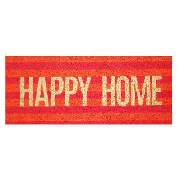 "Fussmatte "" HAPPY HOME"", neon"
