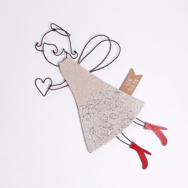 """Fliegende Engel """"Rote Schuhe"""""""