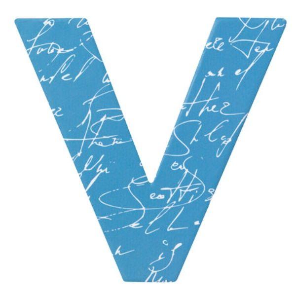 "Paper & Poetry ABC Schachtel ""V"""