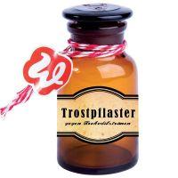 "Glasflacon ""Trostpflaster"""