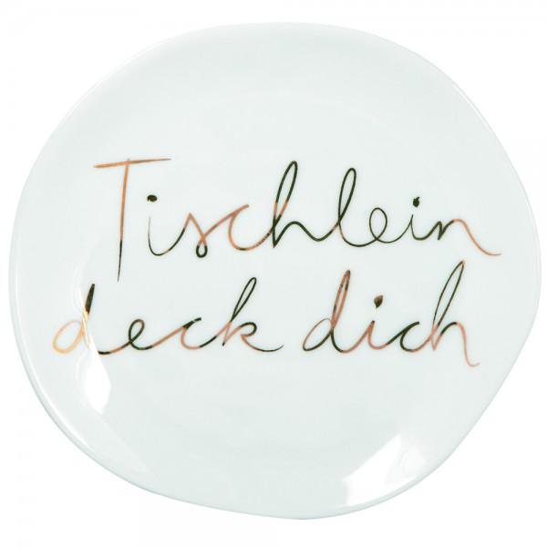 """Mix & Match Teller """"Tischlein deck"""", klein"""