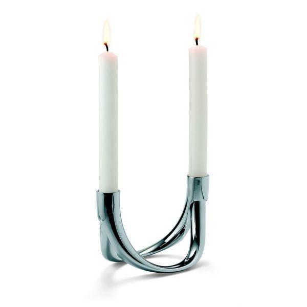 Bow 2er Kerzenhalter