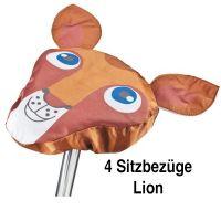"""Sattelschutz """"Lion Kids"""" 4er Set"""