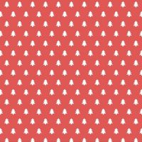 """Servietten """"Tannenbäume"""", rot"""