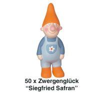 Räder, Zwergenglück - Siegfried Safran 13 cm 50er Set