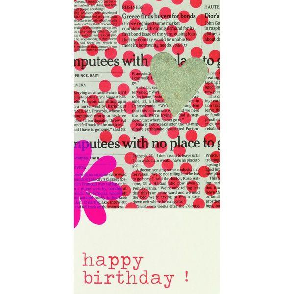 Lieblingsstücke Karte - Happy Birthday!