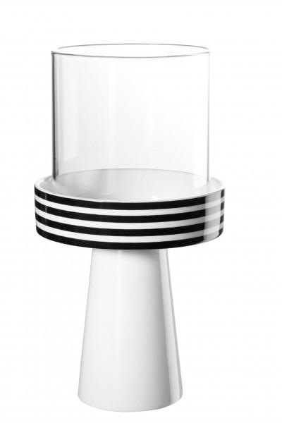 Memphis Windlicht, striped