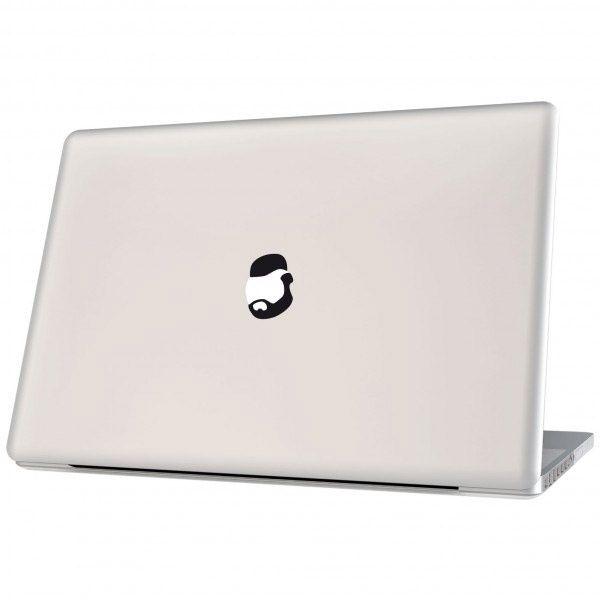 Sticker für Laptops Mr. Cool black