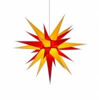 Weihnachtsstern für Innen, Gelb-Rot 70 cm