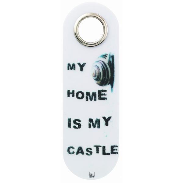 """Türschild """"My Home is my Castle"""""""